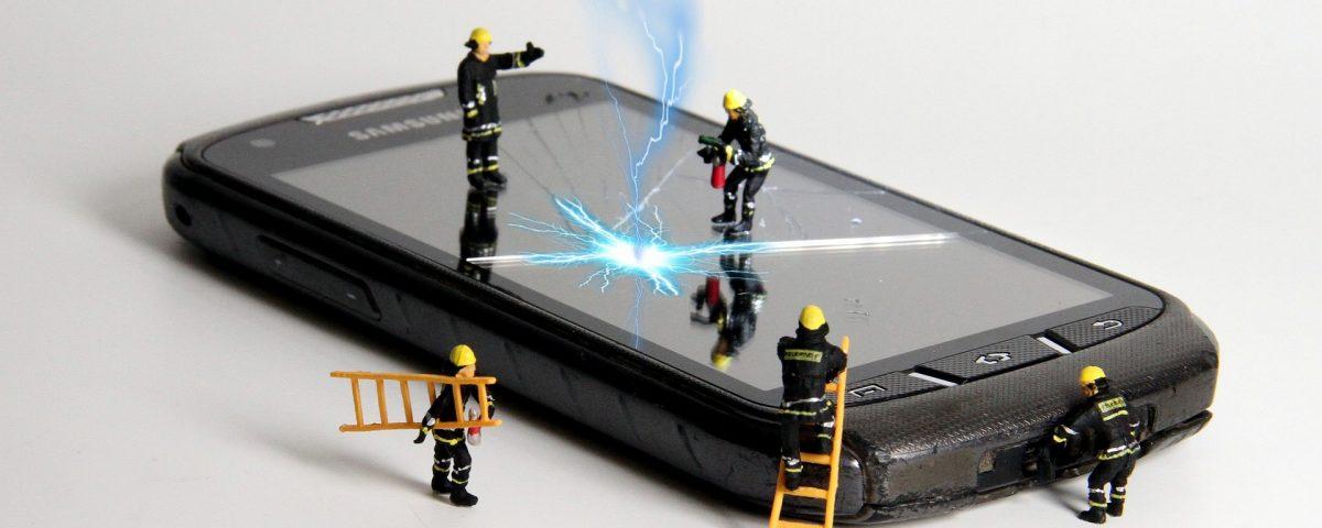 réparateur de téléphone